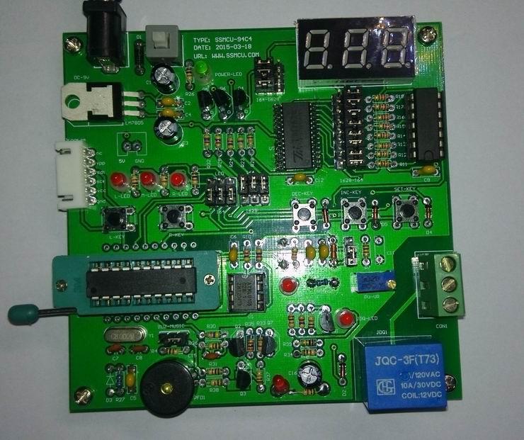 三星单片机s3f9454学习开发板功能介绍